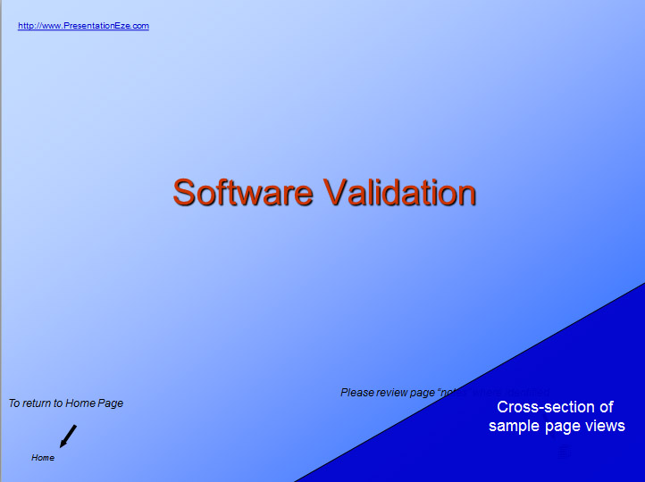 software validation information and training