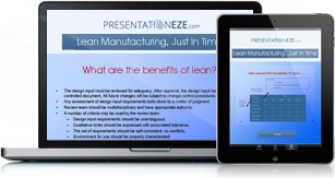 Lean Manufacturing, Just In Time Full Details