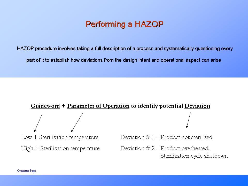 Hazop Risk Analysis