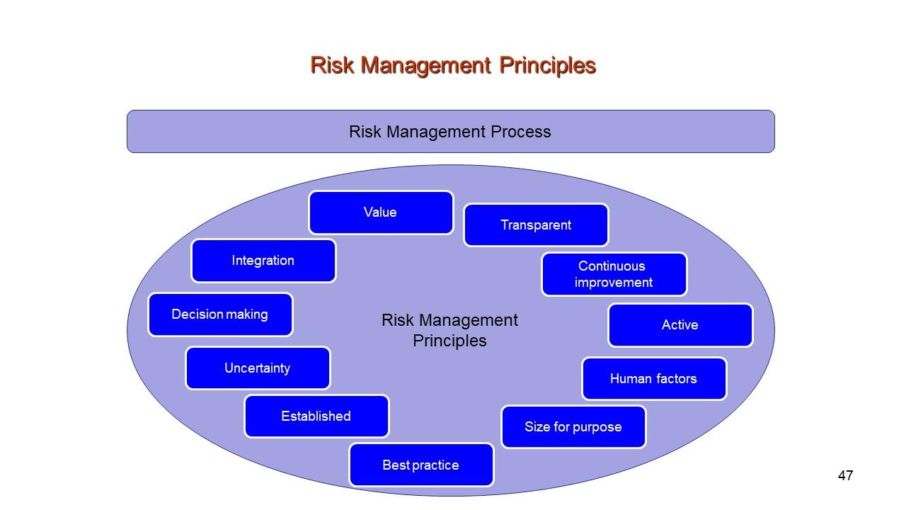 Risk Management … Current best practices.
