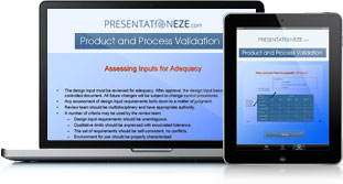 Product and Process Validation Full Details