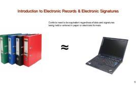 FDA Part 11 Electronic Records Electronic Signatures