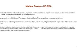 Medical Device Apps and FDA Requirements